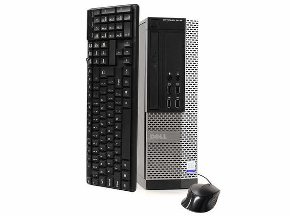 Dell OptiPlex 7020台式电脑,3.2GHz Intel i5四核Gen 4、8GB RAM,120GB SSD,Windows 10 Home 64位(已更新)