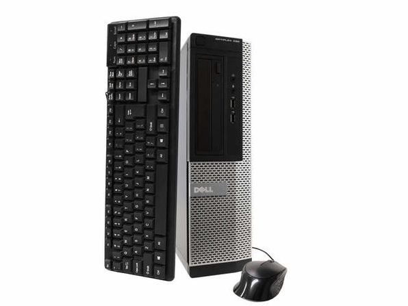 戴尔电脑 OptiPlex 390台式电脑,3.2GHz Intel i5四核Gen 2、8GB RAM,2TB SATA HD,Windows 10 Professional 64位(已更新)