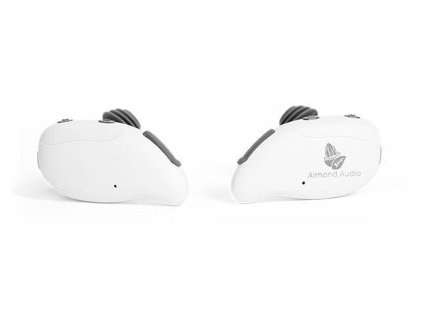 Almond Audio Wire-Free Stereo Earbuds (White)