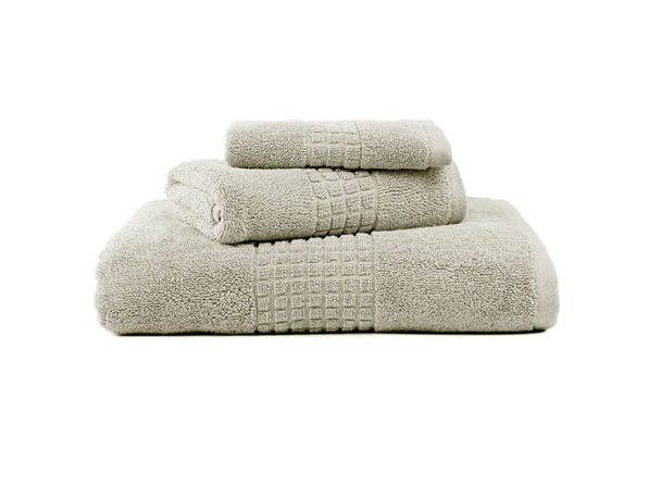 Valentino Luxe 3-Piece Egyptian Cotton Spa Towel Set (Ivory)