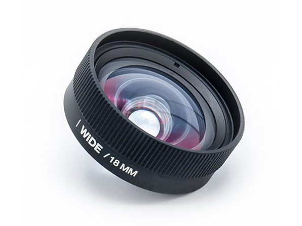 Lemuro 18MM iPhone Wide Lens (Black)