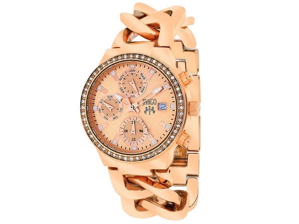 Jivago Women's Levley Rose gold Dial Watch - JV1247