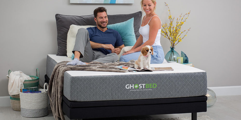 GhostBed® 11″ Memory Foam Cooling Mattress, on sale for $766.99 (29% off)