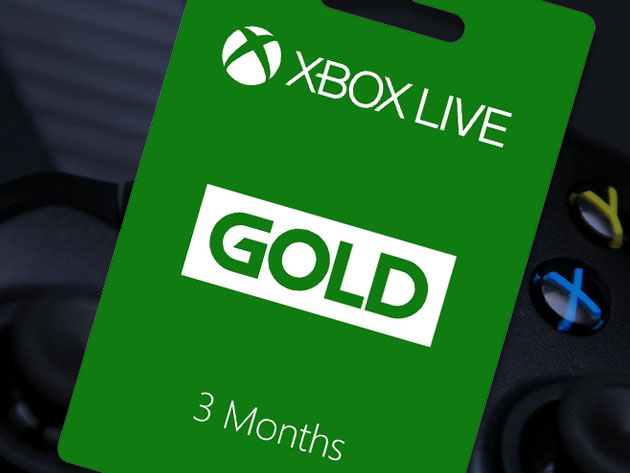 Xbox Live Gold 3 Month Subscription Cracked Shop