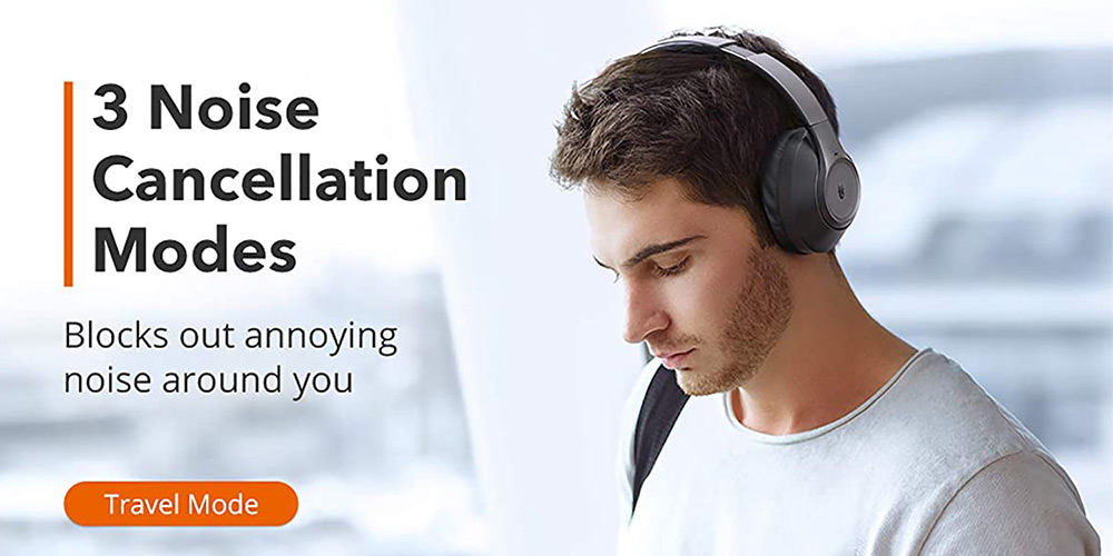 TaoTronics Hybrid Active Noise-Cancelling Headphones, on sale for $76.49 when you use coupon code PREZ2021 at checkout