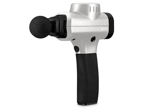 Sonic Handheld Percussion Massage Gun (Silver)
