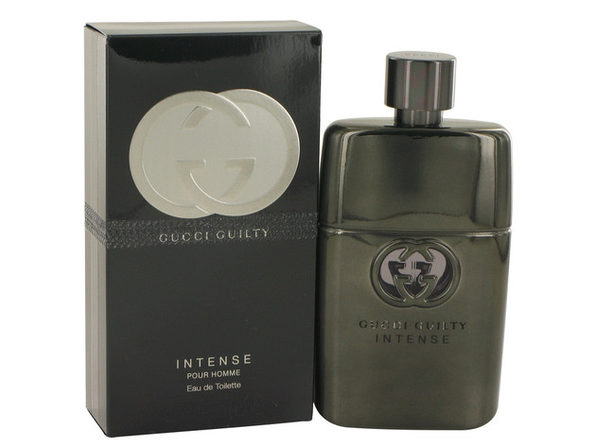 Guilty Intense Eau De Toilette Spray 3 oz For Men 100% authentic perfect as a gift or just everyday use - Product Image