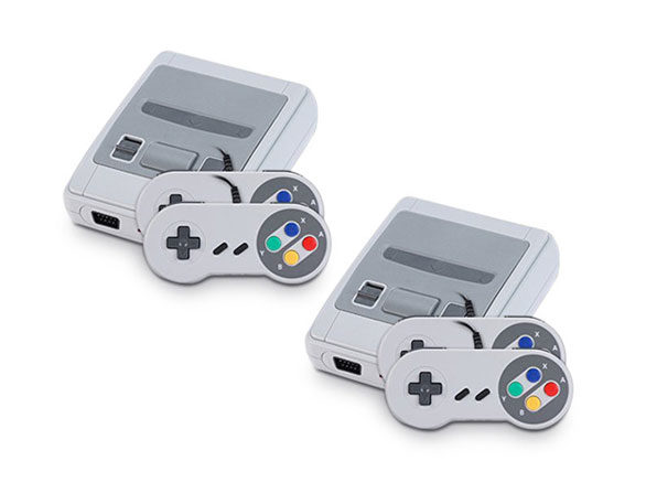 Throwback Gaming Console (2 Pack)