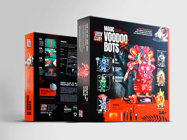 Magic Voodoo Bots PCB Construction Set + Toolkit
