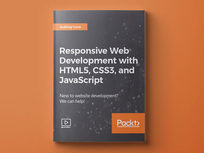 Responsive Web Development with HTML5, CSS3, and JavaScript - Product Image