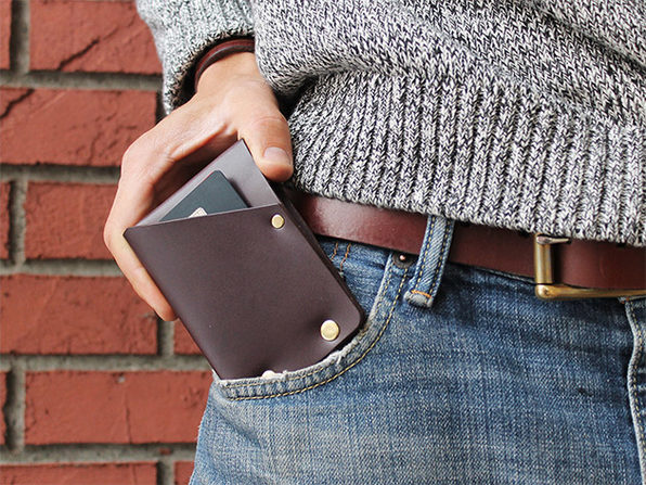 Hammer Riveted Wad Wallet