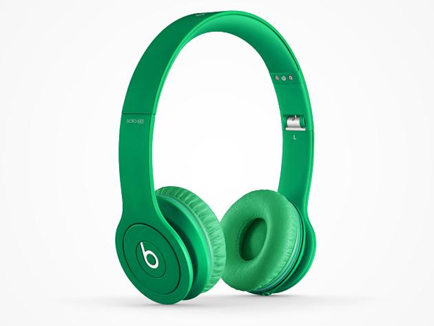 Beats Solo Lime Green
