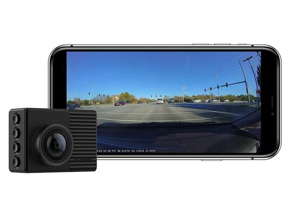 "Garmin Dash Cam 66W Extra-Wide 180 Field View In 1440P HD 2"" LCD Screen"