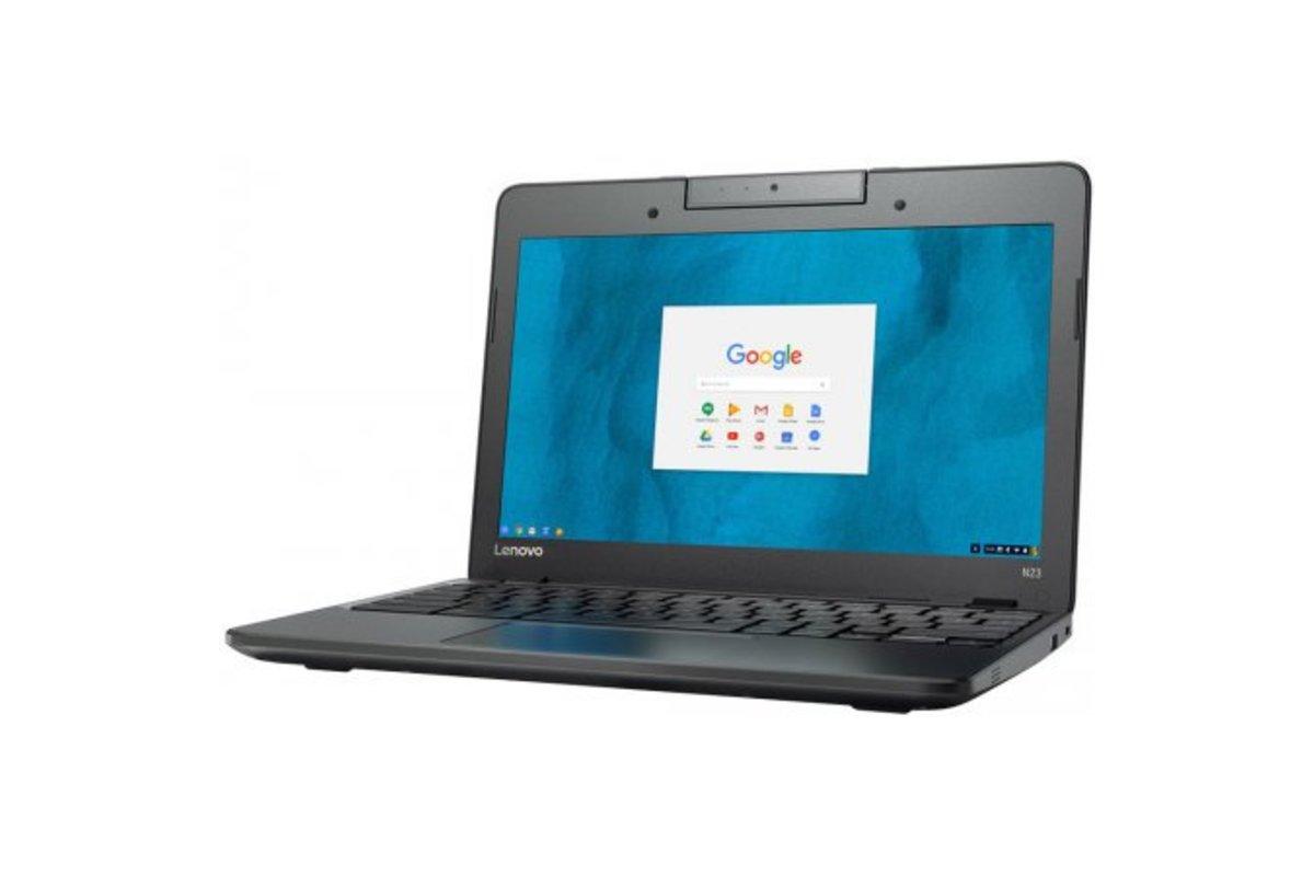 Lenovo n22 11″ Chromebook, 2.16GHz Intel Celeron, 4GB RAM, 16GB SSD, Chrome (Refurbished Grade B), on sale for $179.99 (40% off)