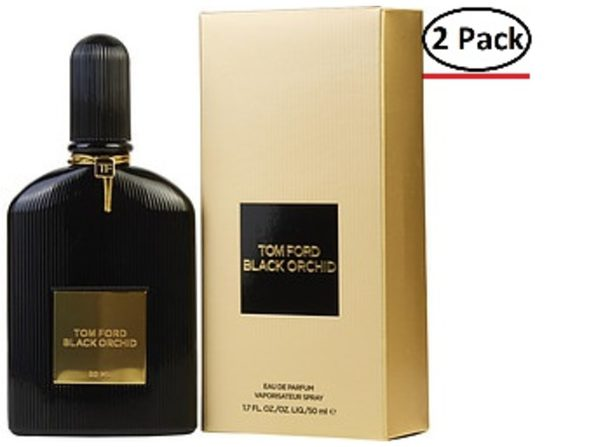 BLACK ORCHID by Tom Ford EAU DE PARFUM SPRAY 1.7 OZ (Package Of 2) - Product Image