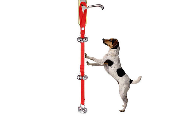 Dog Door Bell Rope (Red)