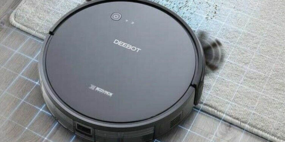 ECOVACS DEEBOT 601 Robotic Vacuum Cleaner (Refurbished), on sale for $129.99 (62% off)
