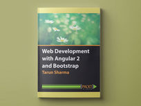 Web Development with Angular 2 and Bootstrap - Product Image