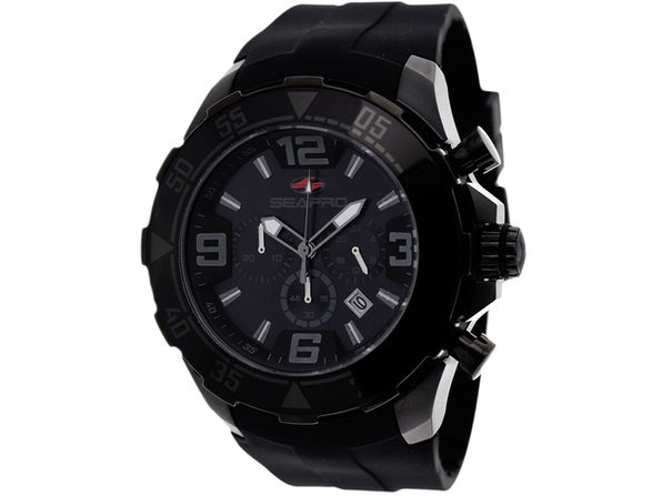 Seapro Men's Diver Black Dial Watch - SP1122