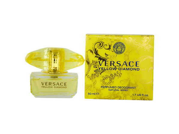 VERSACE YELLOW DIAMOND by Gianni Versace DEODORANT SPRAY 1.7 OZ for WOMEN ---(Package Of 3)