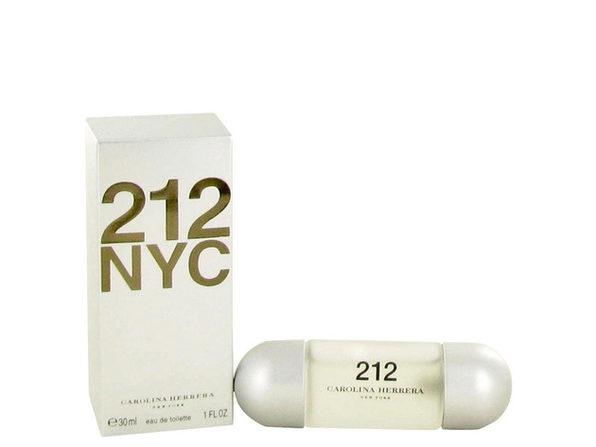 3 Pack 212 by Carolina Herrera Eau De Toilette Spray (New Packaging) 1 oz for Women - Product Image