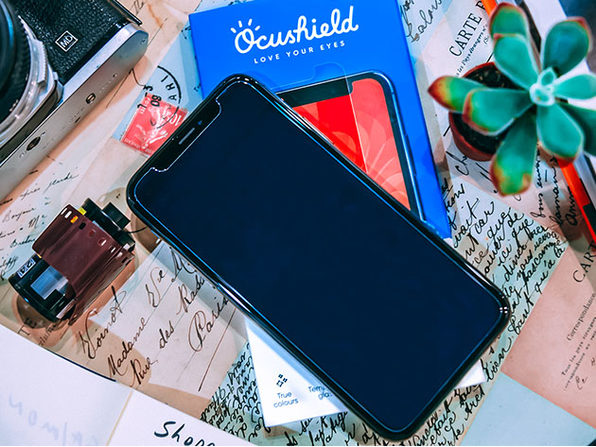 Ocushield Anti-Blue Light Screen Protector (iPhone 11 Pro/X/XS)