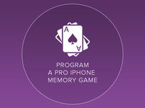 Program a Pro iPhone Memory Game  - Product Image