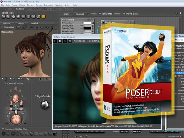 Poser Debut - Product Image