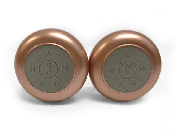 Splash Tunes Pro Dual Waterproof Speaker Set (Rose Gold)