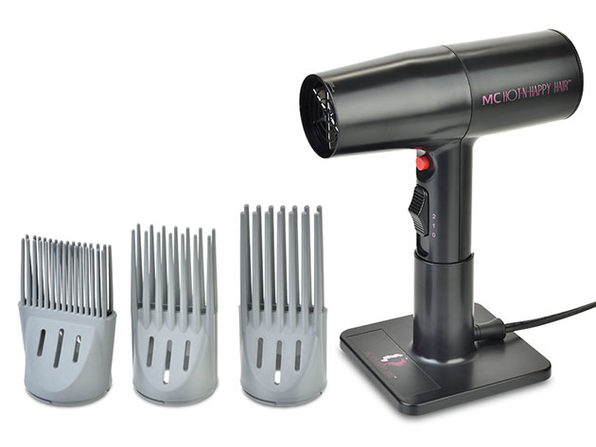 MC Professional Hot-N-Happy Hair Tool + Combs & Cones Bundle