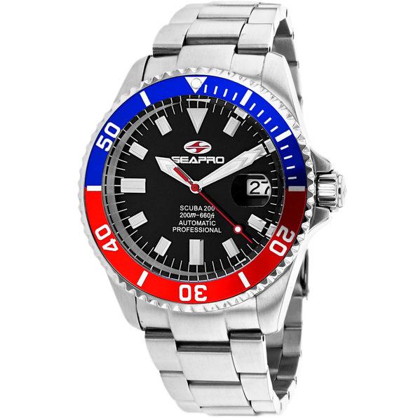 Seapro Men's Scuba 200 Black Dial Watch - SP4319 - Product Image