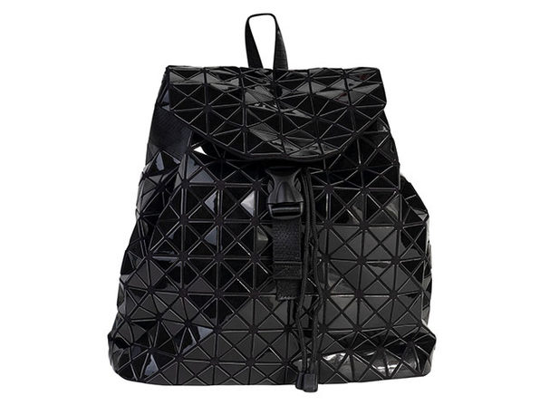 Geo Shaped Backpack - Black - Product Image
