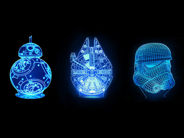 Star Wars 3D Mega Lamps