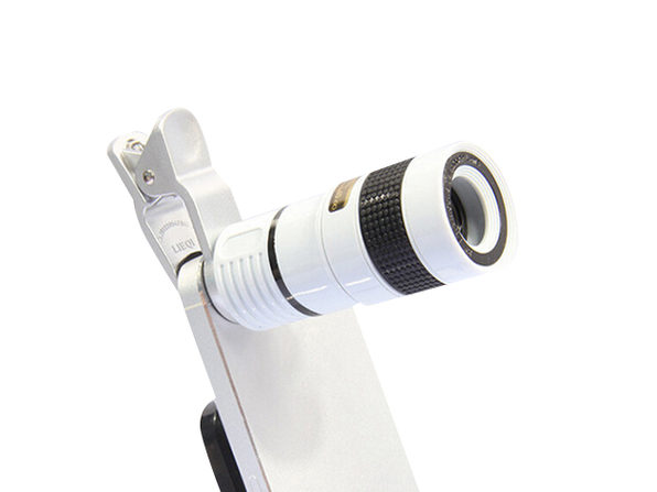 8x Telephoto Smartphone Lens (White)
