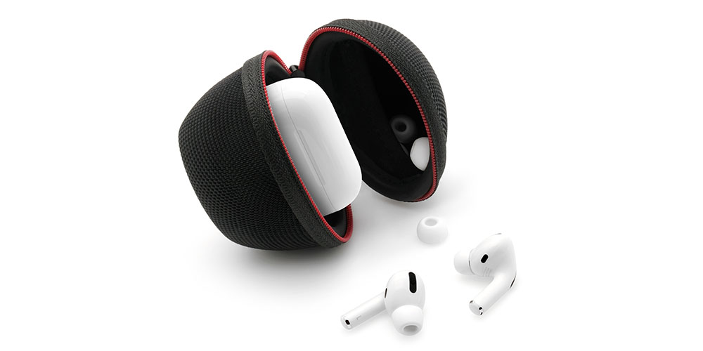 A protective case for AirPod Pros