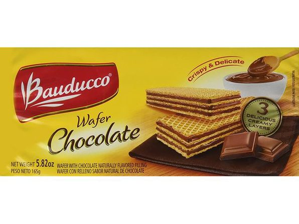Bauducco No Atifical Color and Flavors, 0% Trans Fat Chocolate Wafers, 5.82 Ounce