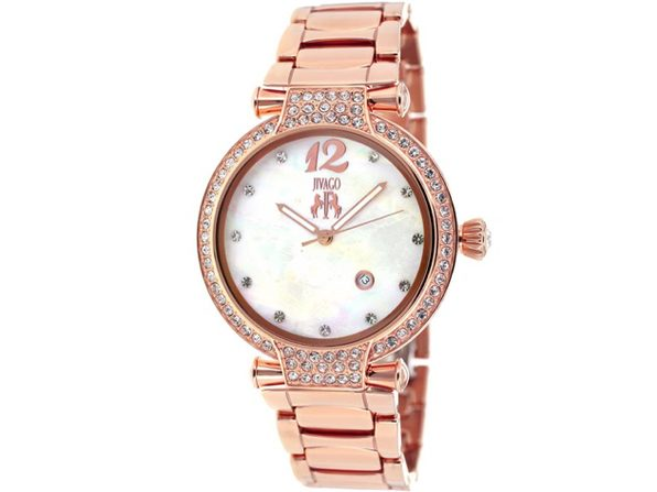 Jivago Women's Bijoux White MOP Dial Watch - JV2218 - Product Image