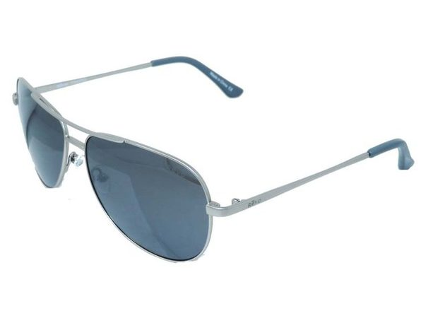 Revo Unisex RE 5015 03 GY  Johnston Polarized Aviator Sunglasses Silver - Silver