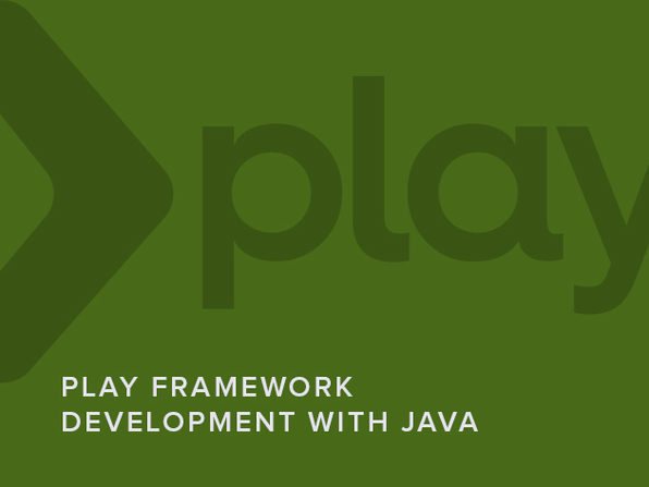 Play Framework Development with Java - Product Image