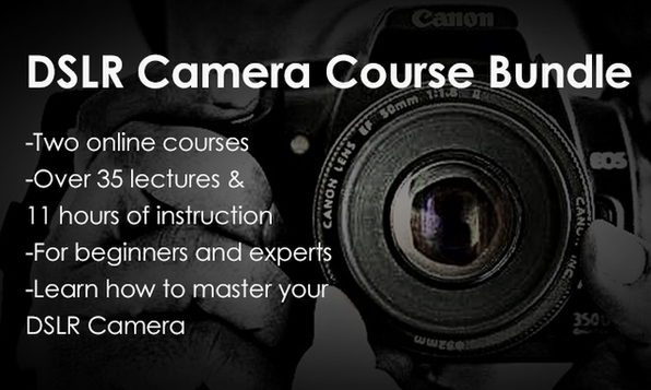The DSLR Camera Course Bundle - Product Image