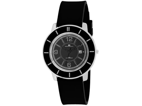 Oceanaut Women's Satin Black Dial Watch - OC0811
