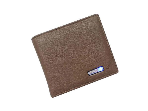 WalletGuard24: Smart Bluetooth Wallet (Brown)
