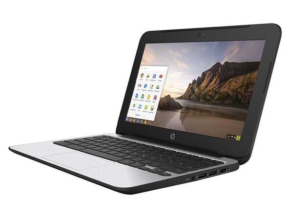 "HP P0B78UT 11"" Chromebook, 2.16GHz Intel Celeron, 4GB RAM, 16GB SSD, Chrome (Renewed)"