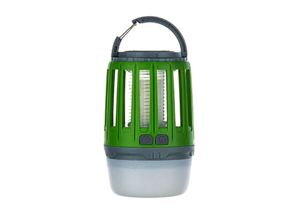 3-in-1 Waterproof Bug Zapper Lantern (Green/2-Pack)