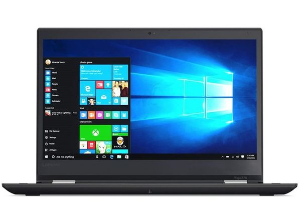 "Lenovo Yoga 370 14"" Laptop, 2.6GHz Intel i5 Dual Core Gen 7, 8GB RAM, 128GB SSD, Windows 10 Professional 64 Bit (Refurbished Grade B)"