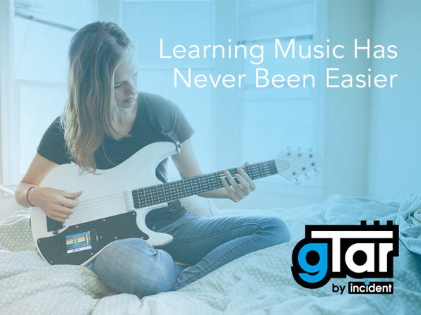 gTar: The First Guitar That Anybody Can Play (iPhone 5) - Product Image