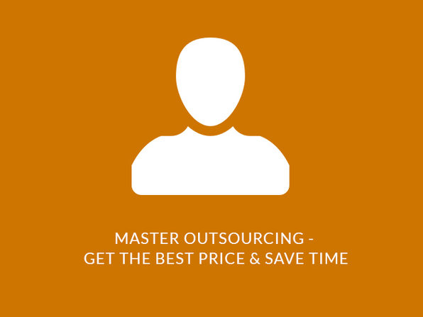 Master Outsourcing - Get the Best Price & Save Time - Product Image