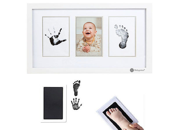 Babyprints® DIY Baby Print & Photo Frame Kit (Set of 2)