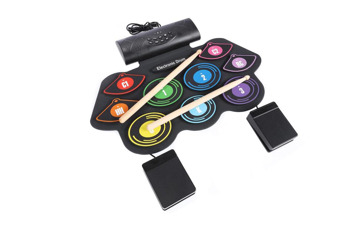 Portable Electronic Drum Set