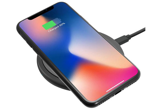 Qi Certified 10W Wireless Fast Charger